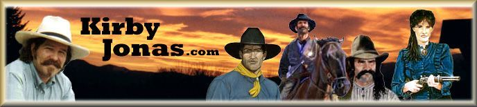 KirbyJonas.com - Home of Best Selling Western Author!